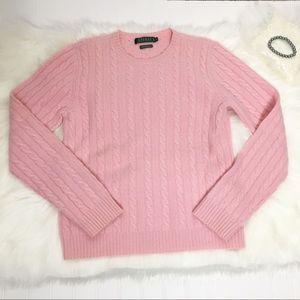 LRL 100% Cashmere Sweater Size Medium